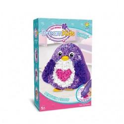 Set creatie perna pentru copii, Dream Kids, Pinguin