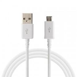 Cablu Date 2A micro USB 1 m WUW-X83 Blister, Alb