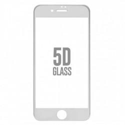 Folie Sticla Apple iPhone 7 4D/5D Alb