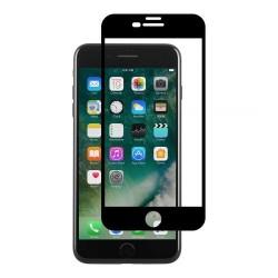 Folie Sticla Apple iPhone 8 Plus 4D Negru