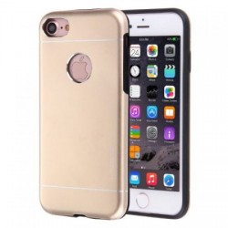 Husa Apple iPhone 5/5S/5SE Motomo V2 Auriu