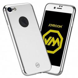 Husa Apple iPhone 6/6S Joyroom (Fata + Spate) Argintiu + Folie de protectie