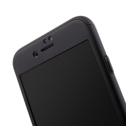 Husa Apple iPhone 7 Premium Full Cover 360 Argintiu + Folie Cadou