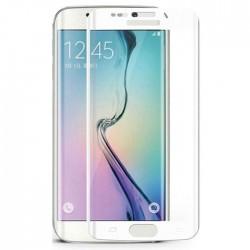 Folie Silicon Curbata Samsung Galaxy S6 Edge Alb