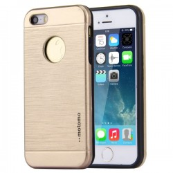 Husa Apple iPhone 5/5S/5SE Motomo V5 Auriu