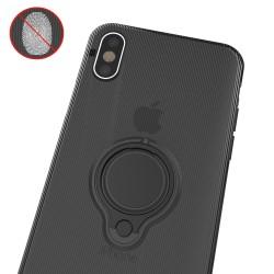 Husa Apple iPhone 6 Armor Ring cu inel magnetic Negru