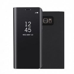 Husa Huawei Mate 10 Lite Flip Cover Oglinda Negru