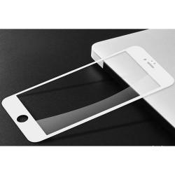 Folie Sticla Apple iPhone 8 Plus 4D/5D Alb