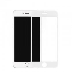 Folie Sticla Apple iPhone 7 Plus 4D/5D Alb