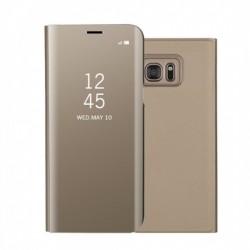 Husa Huawei Mate 10 Lite Flip Cover Oglinda Auriu