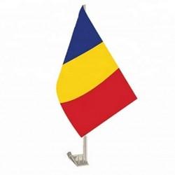 Steag Tricolor auto 45 cm x 30 cm / stegulet / stegulet auto / flag / drapel