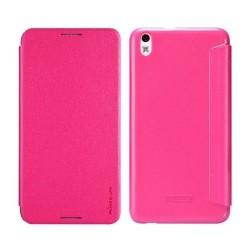 Husa HTC Desire 816 Nillkin Sparkle Flip Roz