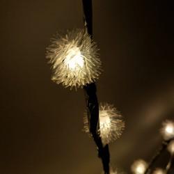 Decoratiune Luminoasa Crenguta cu Baterii 72 LED -uri Alb Cald