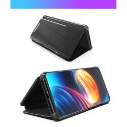 Husa Huawei Mate 20 Flip Cover Oglinda Negru