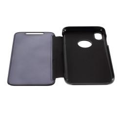 Husa Apple iPhone XR Flip Cover Oglinda Negru