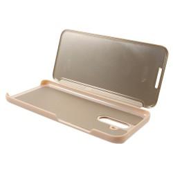 Husa Huawei Mate 20 Lite Flip Cover Oglinda Auriu