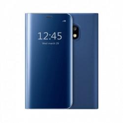 Husa Huawei Mate 20 Lite Flip Cover Oglinda Albastru