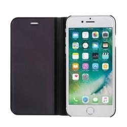 Husa Apple iPhone 7 Flip Cover Oglinda Negru