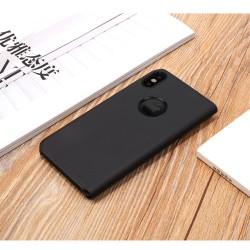 Husa Apple iPhone X Flip Cover Oglinda Negru