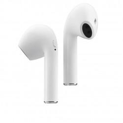 Casti Wireless Bluetooth MKJ-I9 Earbuds Flippy, Alb