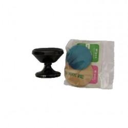 Suport auto magnetic rotire 360 grade pentru telefon BK1, Negru