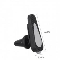 Suport auto magnetic pentru telefon CM-01, Negru