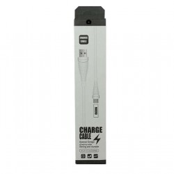 Cablu Date 1A Micro-USB 1 m WUW-X75 Flippy Blister, Alb