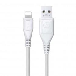Cablu Date 1A Lightning 1 m WUW-X76 Flippy Blister, Alb