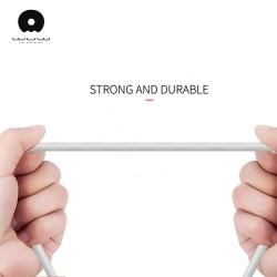 Cablu Date 2A Micro-USB 1 m WUW-X85 Flippy Blister, Alb