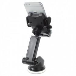 Suport auto cu brat telescopic Flippy pentru telefon BK0045-C, Negru