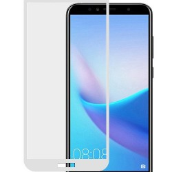 Folie de protectie Full Glue Sticla securizata pentru Huawei P Smart, Alb