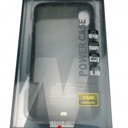 Acumulator extern WUW-JLW Power Case 4000 mAh pentru Apple iPhone XS Max, Negru