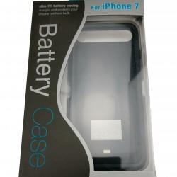 Acumulator extern iFans Battery Case 3100 mAh pentru Apple iPhone 7, Negru