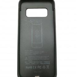 Acumulator extern Ultra Thin Battery Case 4000 mAh pentru Samsung Galaxy S8, Negru