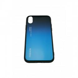 Husa Apple iPhone X Hybrid Back Degrade, Albastru