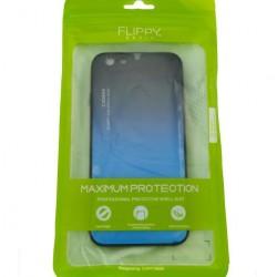 Husa Apple iPhone 6/6S Hybrid Back Degrade, Albastru
