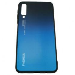 Husa Samsung Galaxy A7 2018 Hybrid Back Degrade, Albastru