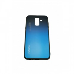 Husa Samsung Galaxy A6 Plus 2018 Hybrid Back Degrade, Albastru