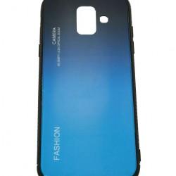 Husa Samsung Galaxy A6 2018 Hybrid Back Degrade, Albastru