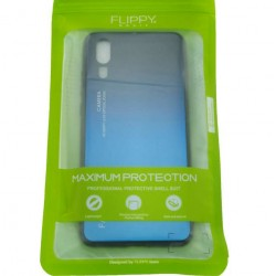 Husa Huawei P20 Pro Hybrid Back Degrade, Albastru