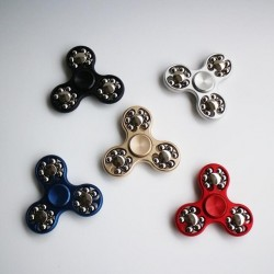 Fidget Spinner 18 Balls, Negru