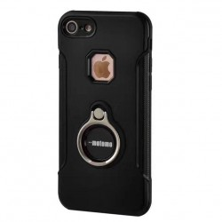 Husa Apple iPhone 5/5S/5SE Motomo Ring Negru