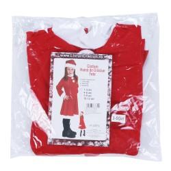 Costum Craciunita Flippy® Fata, 1-3 ani, 3 piese, Polar