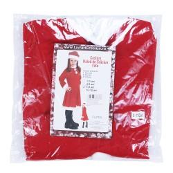 Costum Craciunita Flippy® Fata, 7-9 ani, 3 piese, Polar