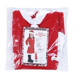 Costum Craciunita Flippy® Fata, 10-12 ani, 3 piese, Polar