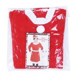 Costum Craciunita Flippy® Femeie, Adult, 3 piese, Polar