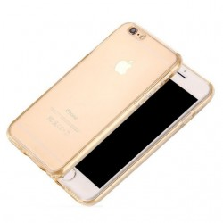 Husa Apple iPhone 6/6S Plus Full Tpu 360 Auriu