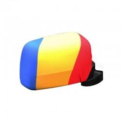 Huse tricolore pentru oglinzi auto, set 2 buc