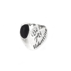 Charm din Argint 925 Be my Valentine