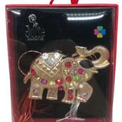 Martisor Brosa VINTAGE V9 Elefant  8cm x 10cm